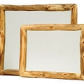 Aspen Log Wall Mount Mirrors