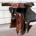 Redwood Burl End Tables and Redwood Burl Coffee Tables