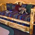 Rustic Log Daybed