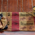 Wilderness Stripe Table Linens, Placemats and Towels