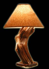 Twisted Juniper Table Lamp