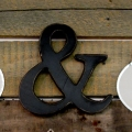 Mr. & Mrs. Metal Wedding Decoration Signs