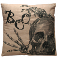 Pillow Boo Skeleton