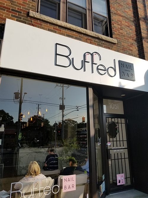 Buffed Nail Bar