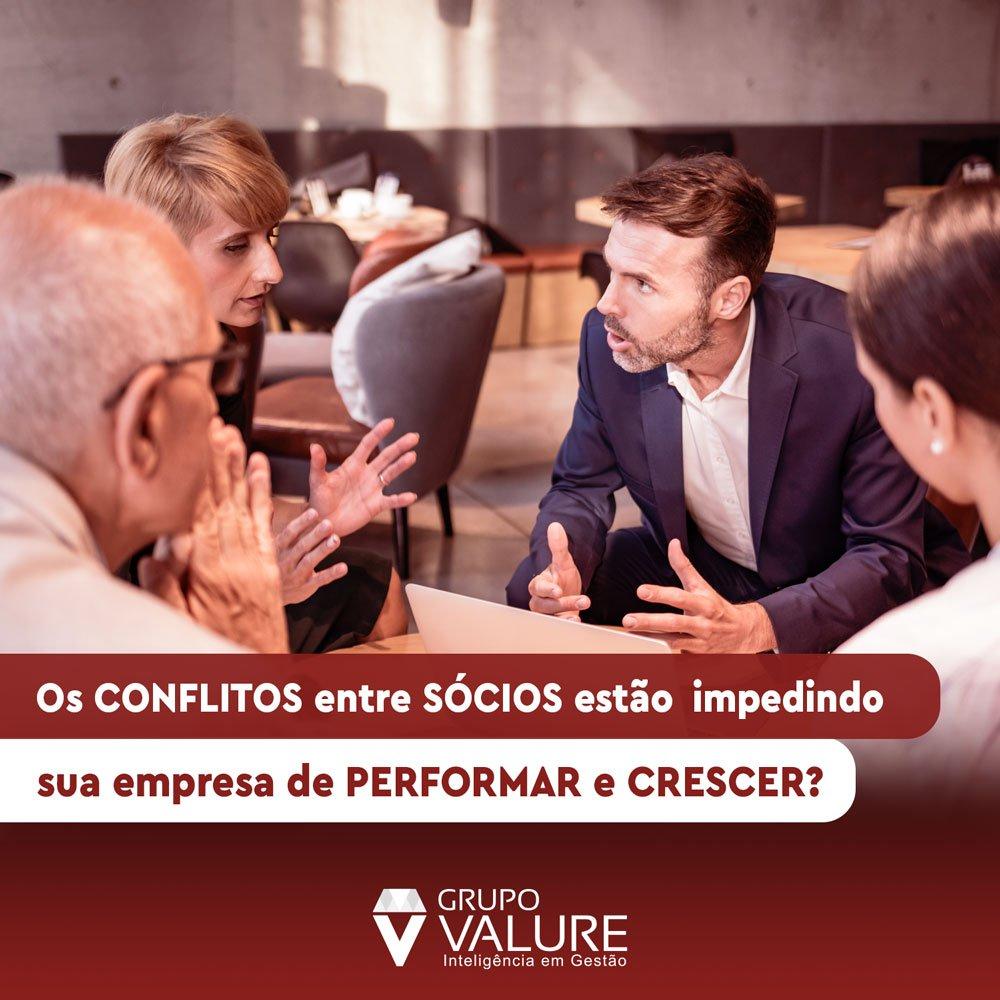 Conflitos entre sócios estão impedindo sua empresa de performar?