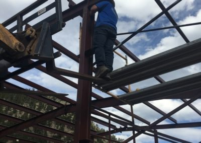 Steel Building inClear Creek County, CO