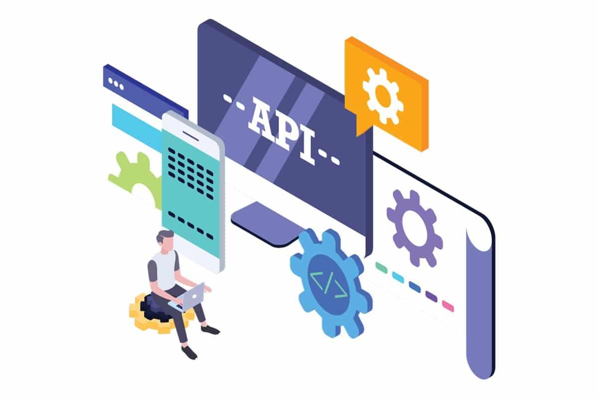 Illustration for API Integration Interface