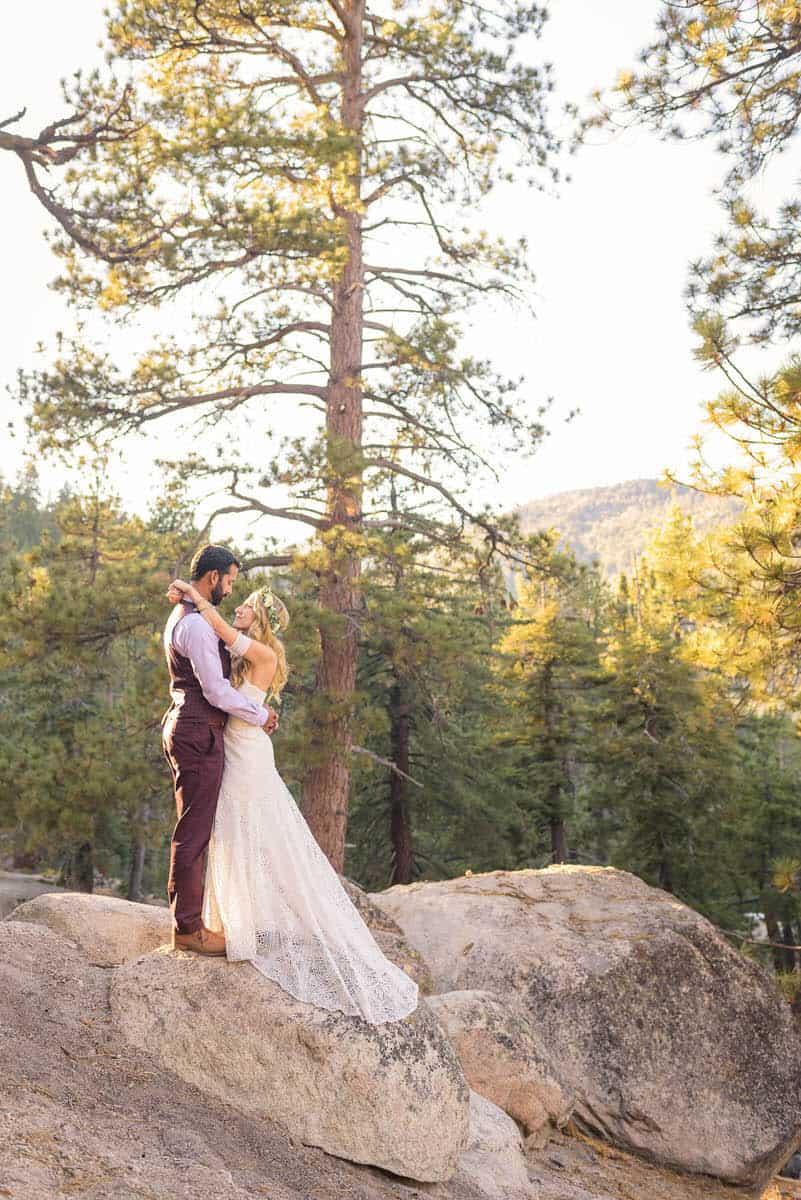 Alan & Heidi Big Bear Mountain Wedding