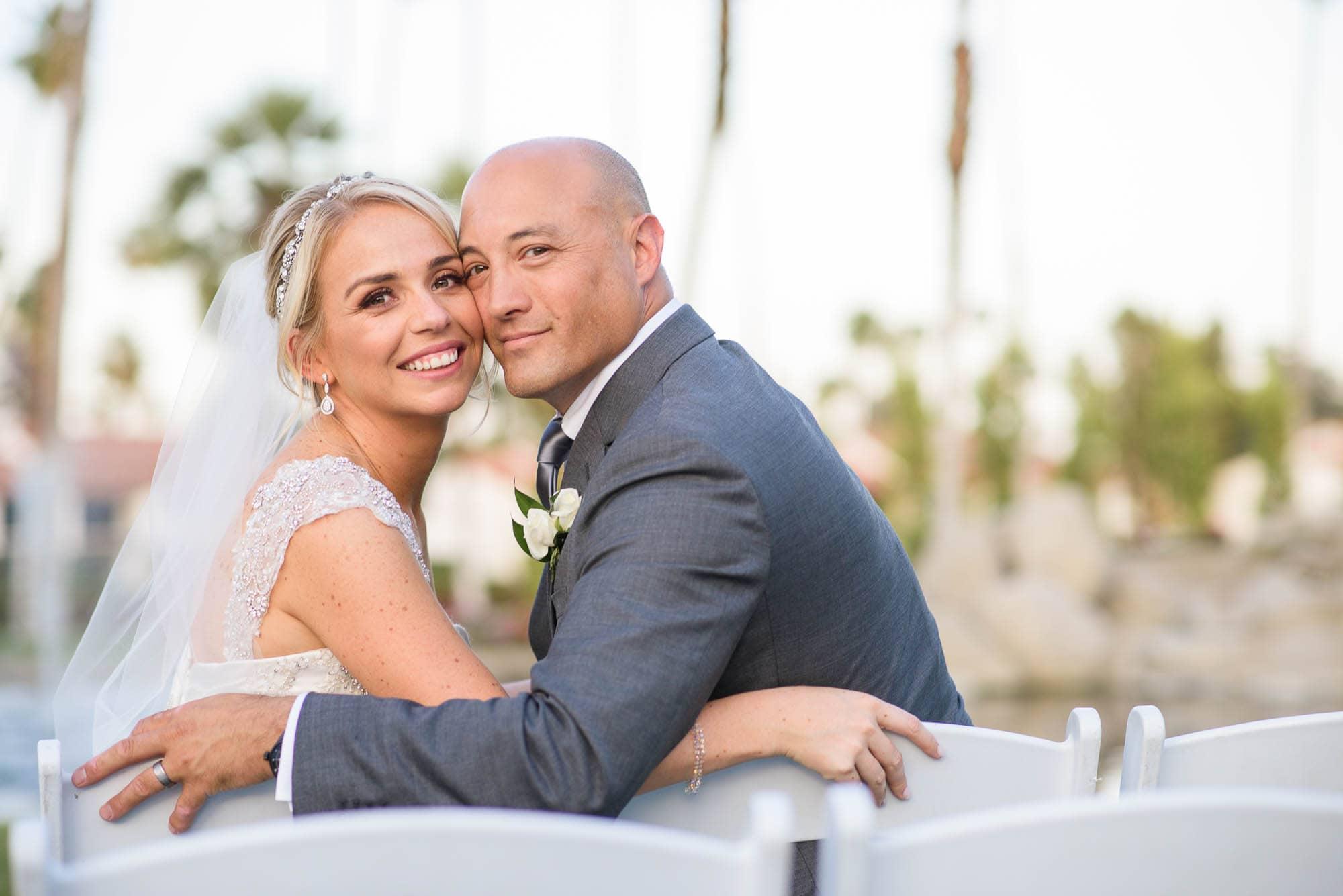 Alan & Heidi Palm Springs Wedding ceremony