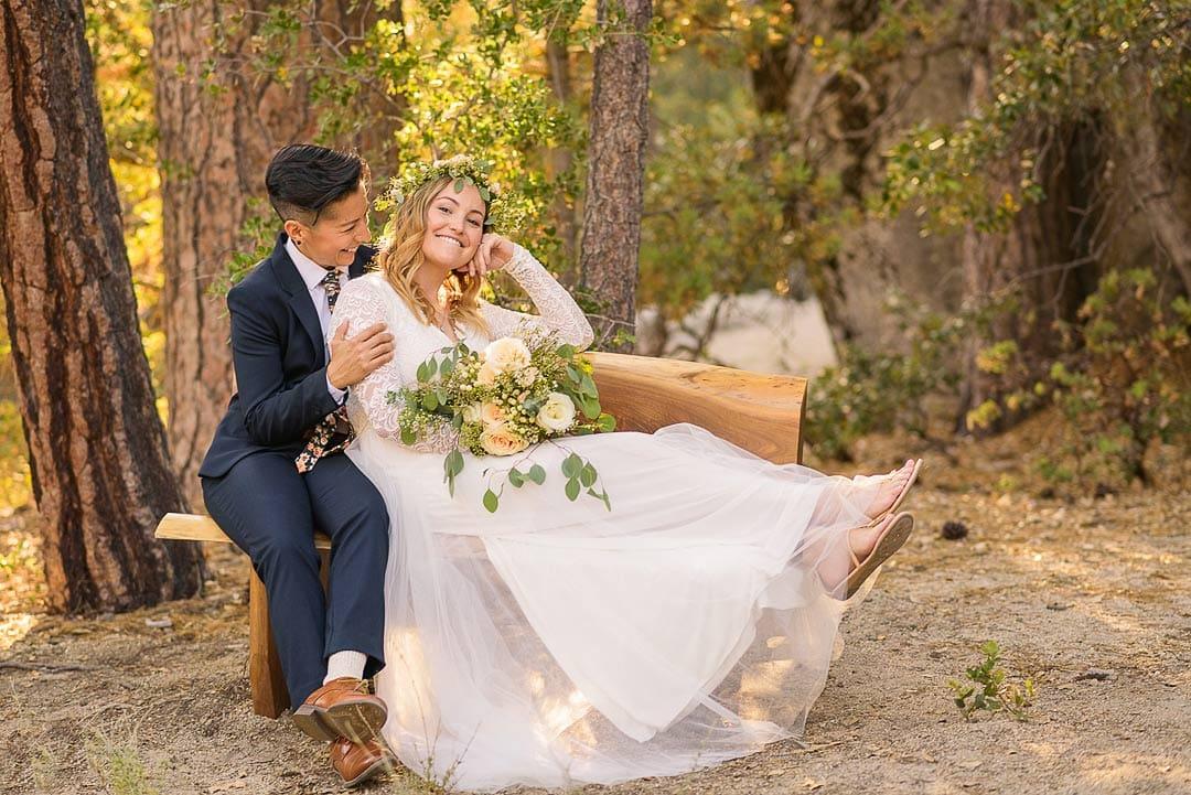 Alan & Heidi lesbian couple elopement