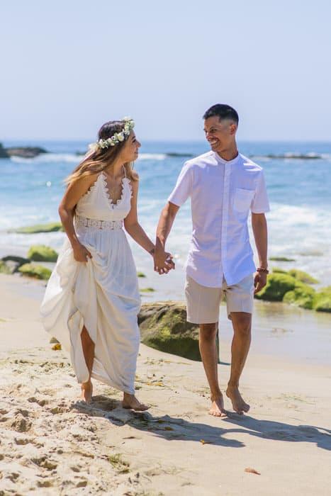 Alan & Heidi Laguna Beach Elopement