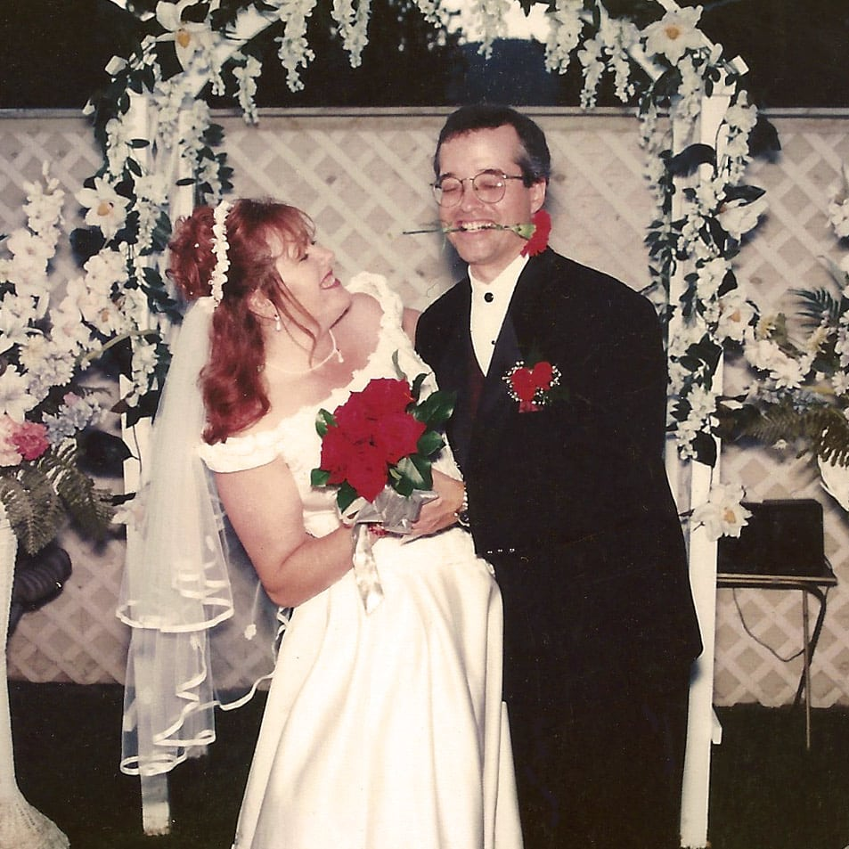 Alan & Heidi wedding photo