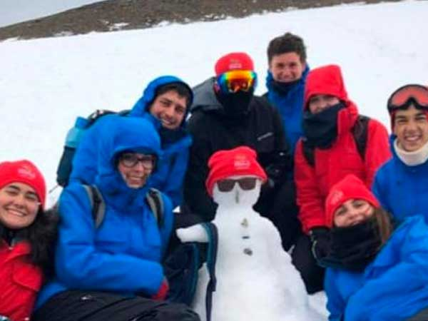 La apasionada estadía científica en la Antártida de 16 estudiantes uruguayos