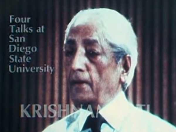 Krishnamurti - Acabar con el miedo - 1. ¿Cómo aprende uno sobre sí mismo?