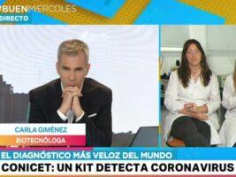 coronavirus: conicet presenta un test de detección rápida