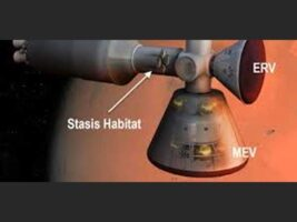 Torpor Inducing Transfer Habitat For Human Stasis To Mars