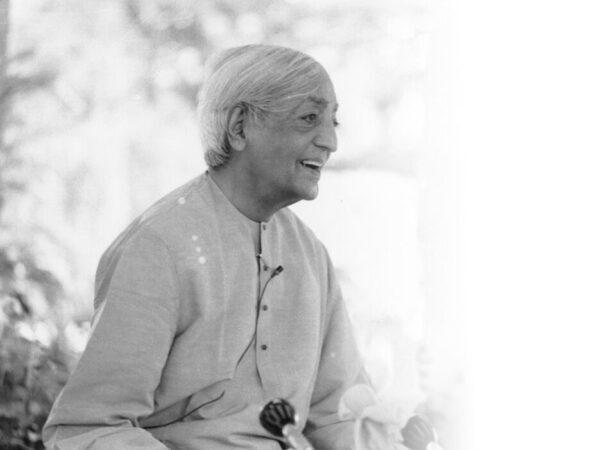 Krishnamurti - Acabar con el miedo