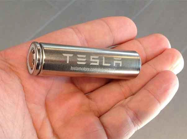 tesla bateria