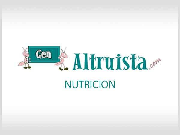 articulos y notas sobre nutricion