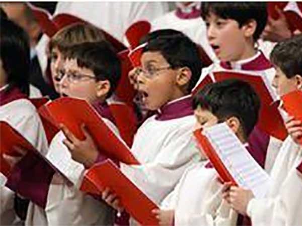 En los coros, los corazones se sincronizan