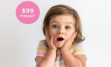 Book a Friday for just $99!*