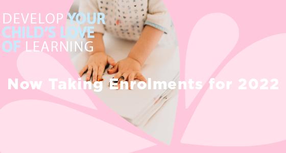 2022 Enrolments Website Banner
