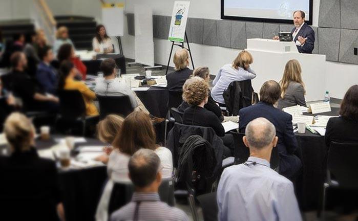 David Eisenberg Speaking at a conference