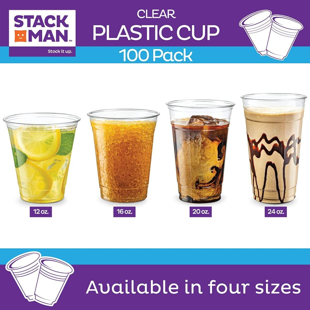 Plasic Cups Only