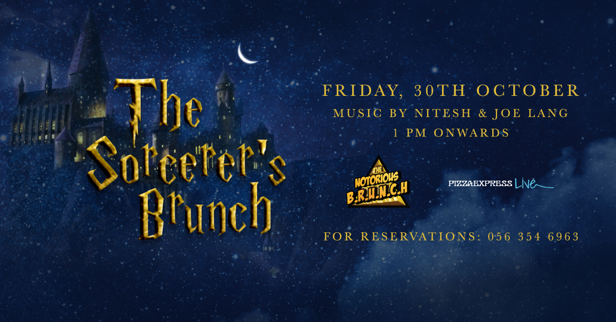 The Sorcerer's Brunch - Halloween Special at Notorious