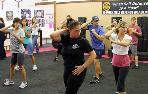 self-defense training