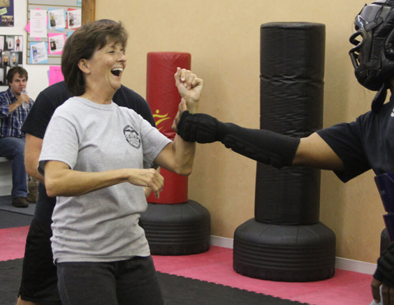self-defense training