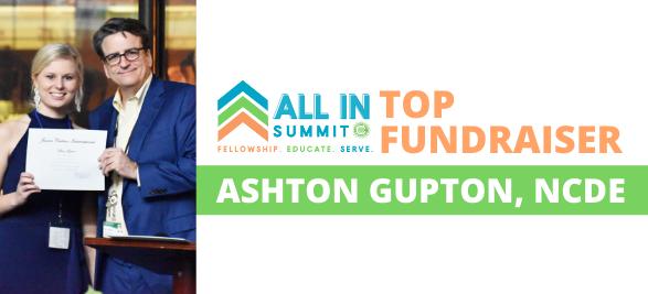 All In Top Fundraiser: Ashton Gupton, North Carolina East
