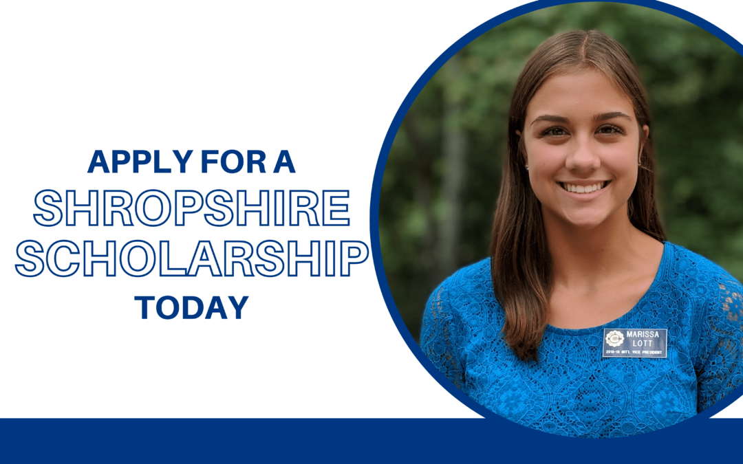 Shropshire Scholarships: Apply Today!