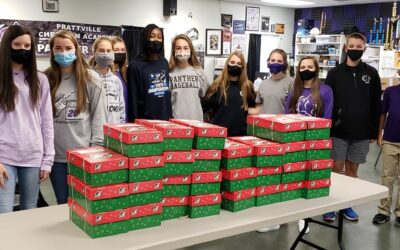 Prattville Christian Academy Packs Operation Christmas Child Boxes