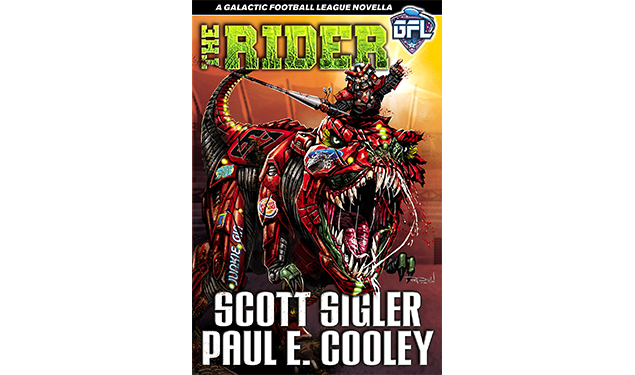 """Scott Sigler and Paul E. Cooley's """"The Rider"""""""