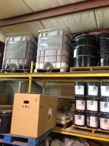 Witco Coherex dust control