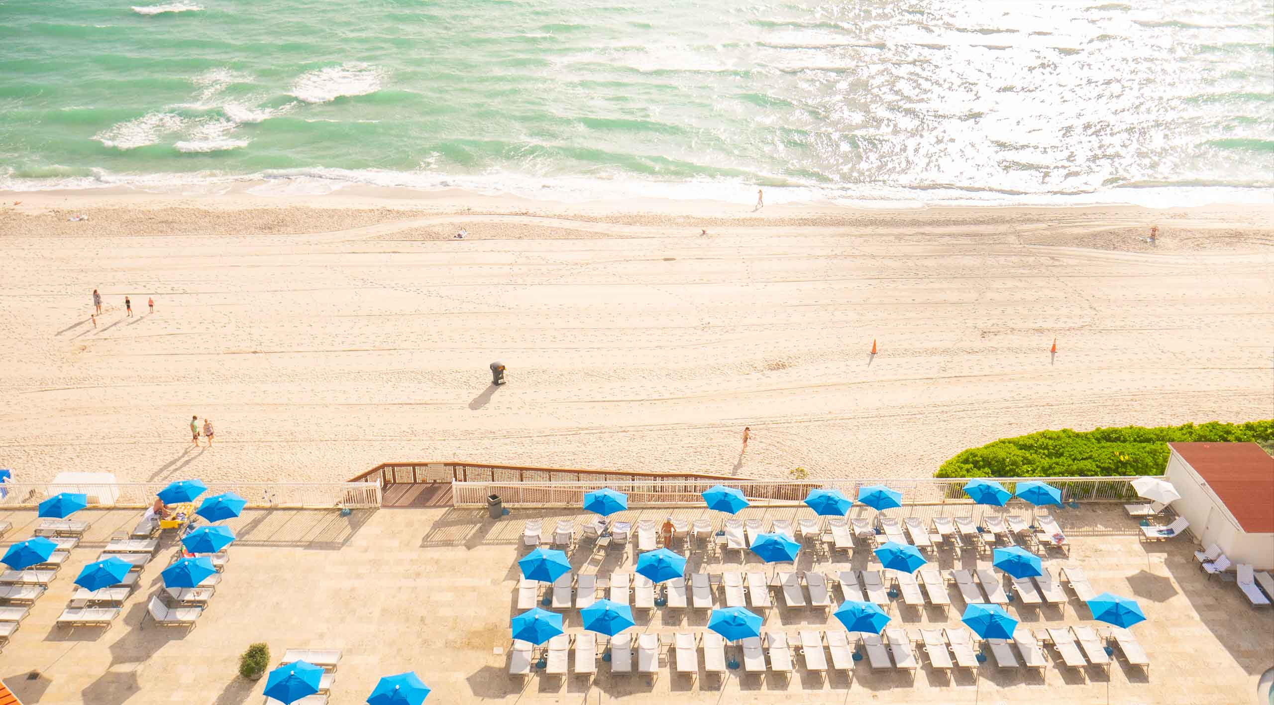 Marco Polo Hotel & Resort Aerial View from Sunny Isles Beach