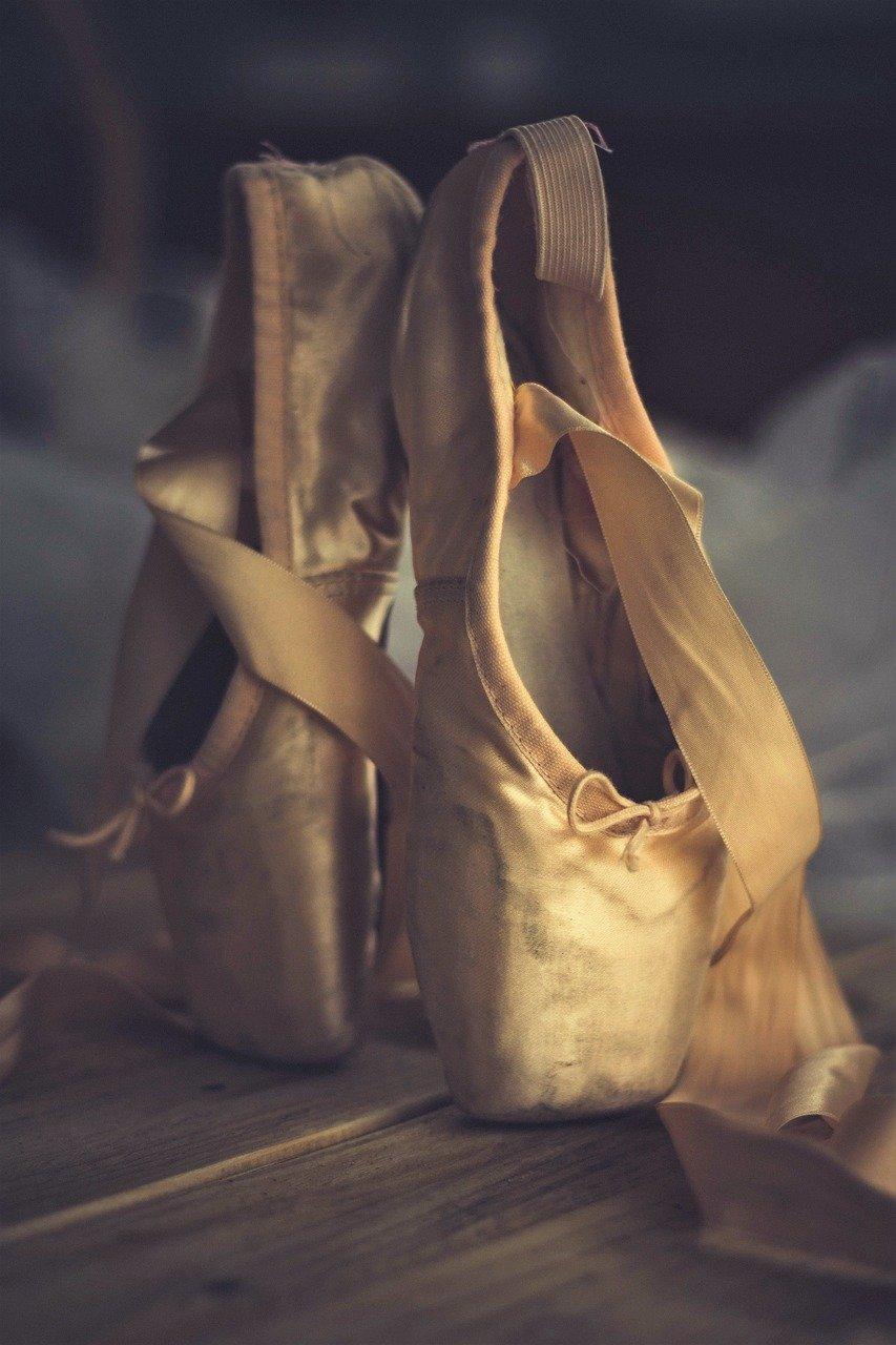 slipper, dance, ballet