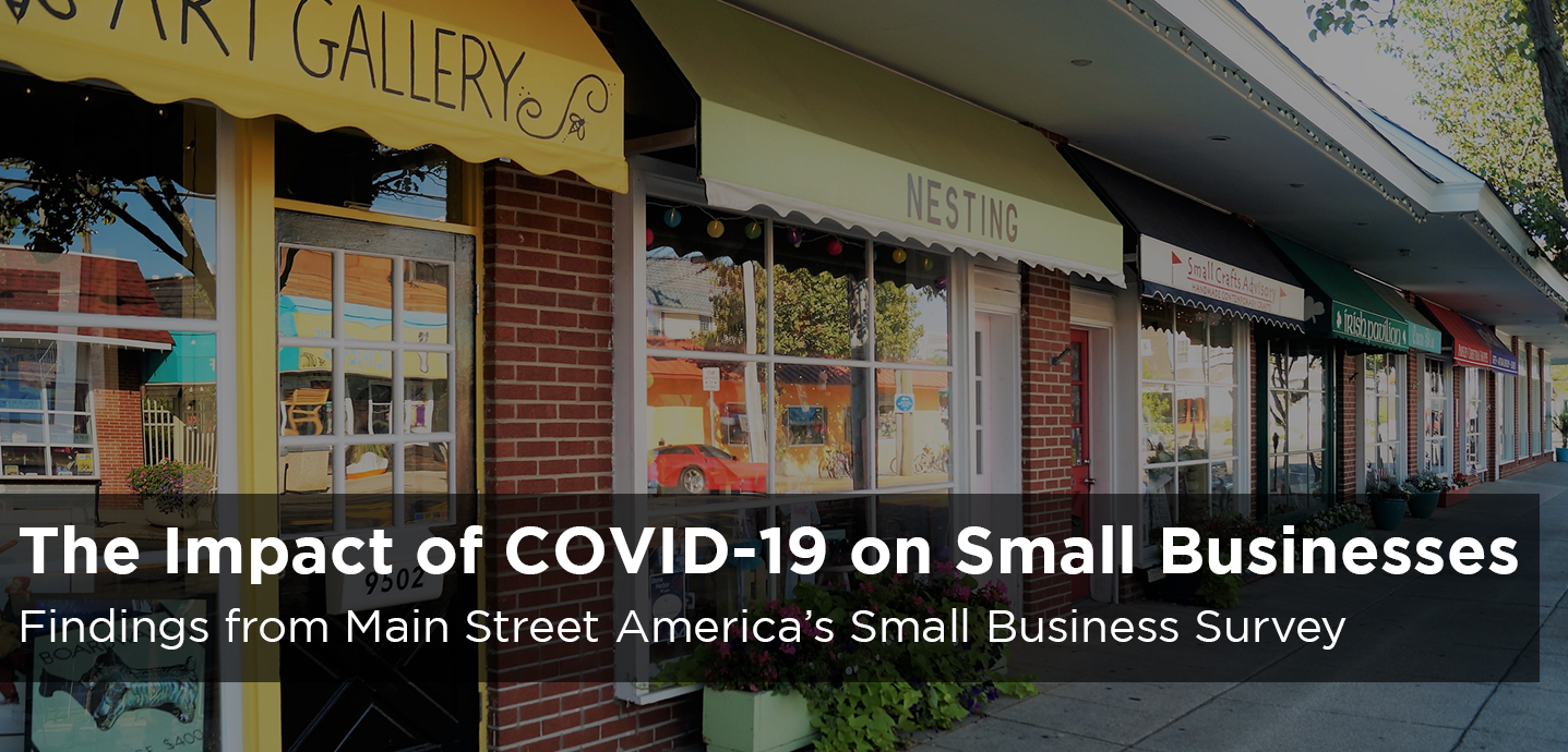 New Report: The Impact of COVID-19 on Small Businesses