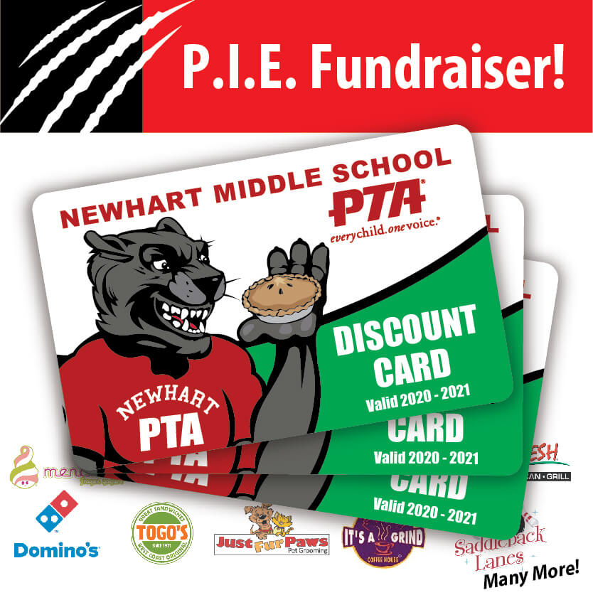 Newhart Middle School P.I.E FUNDRAISER
