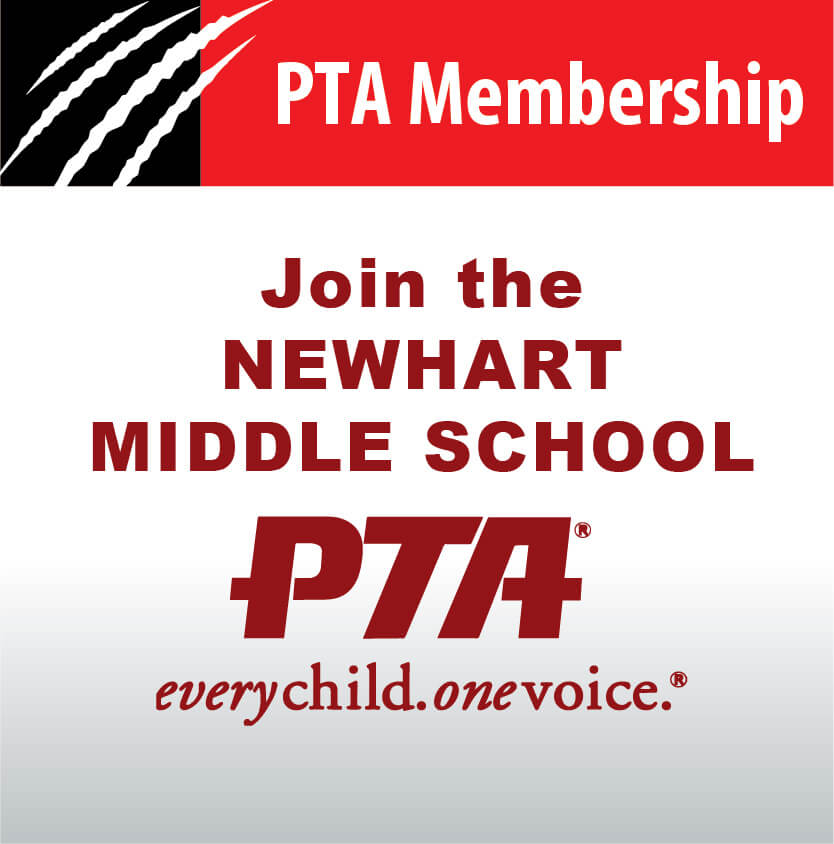 Newhart Middle School PTA Membership