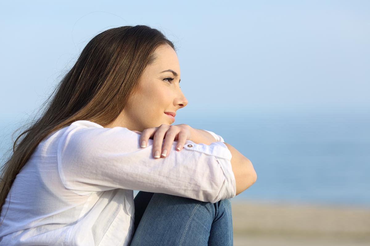 Woman with Depression Seeks Ketamine IV Therapy