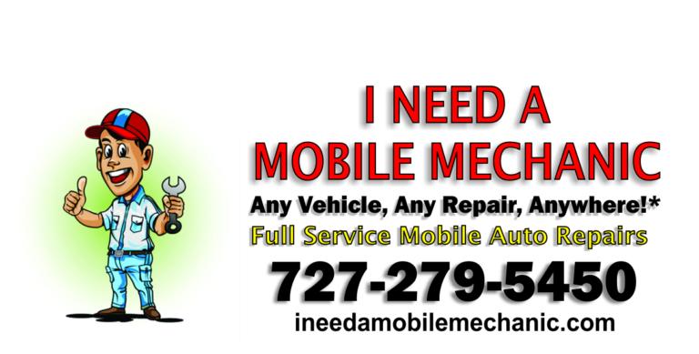 I Need A Mobile Mechanic