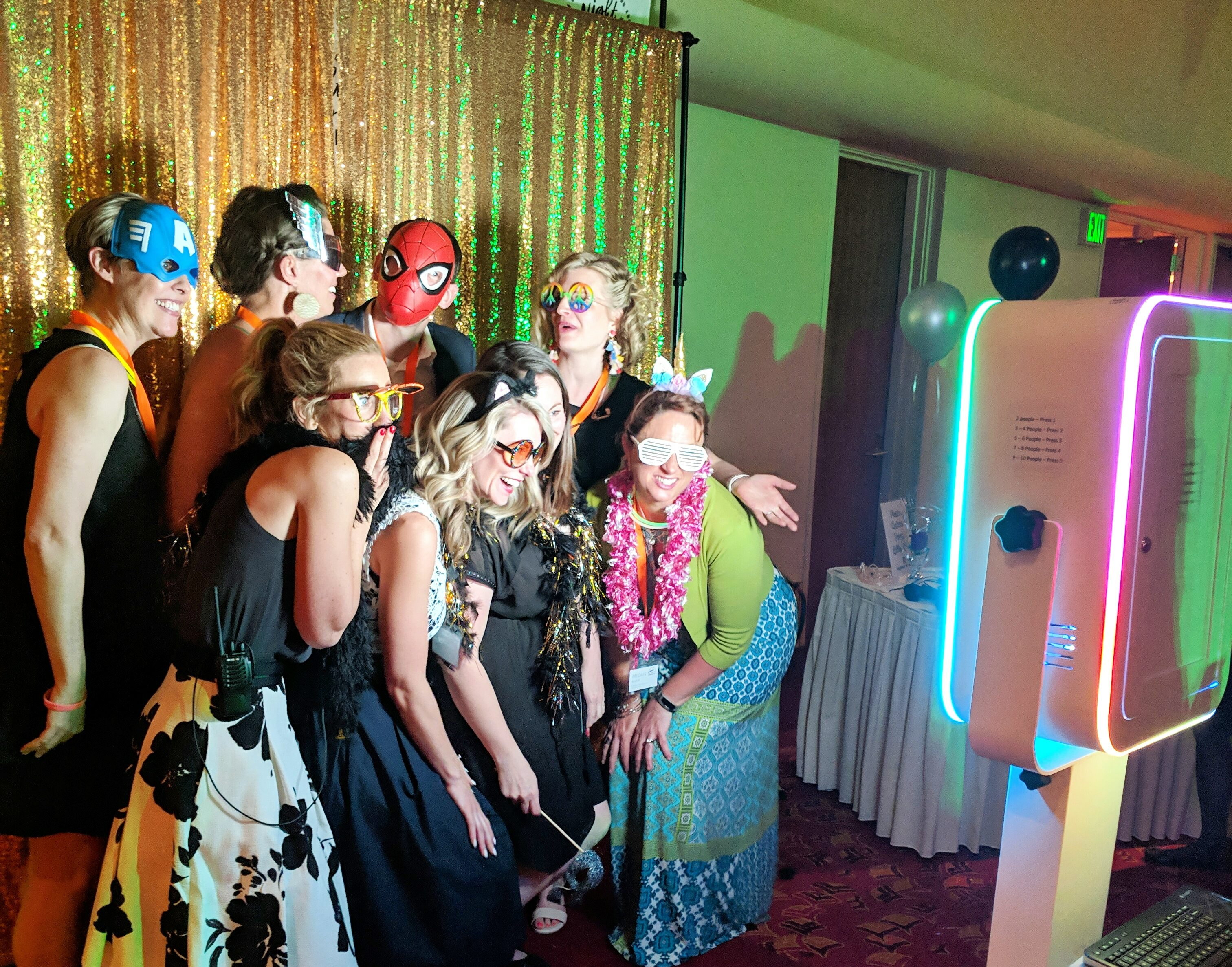 Fun Party With A Photo Booth Rental Madison WI
