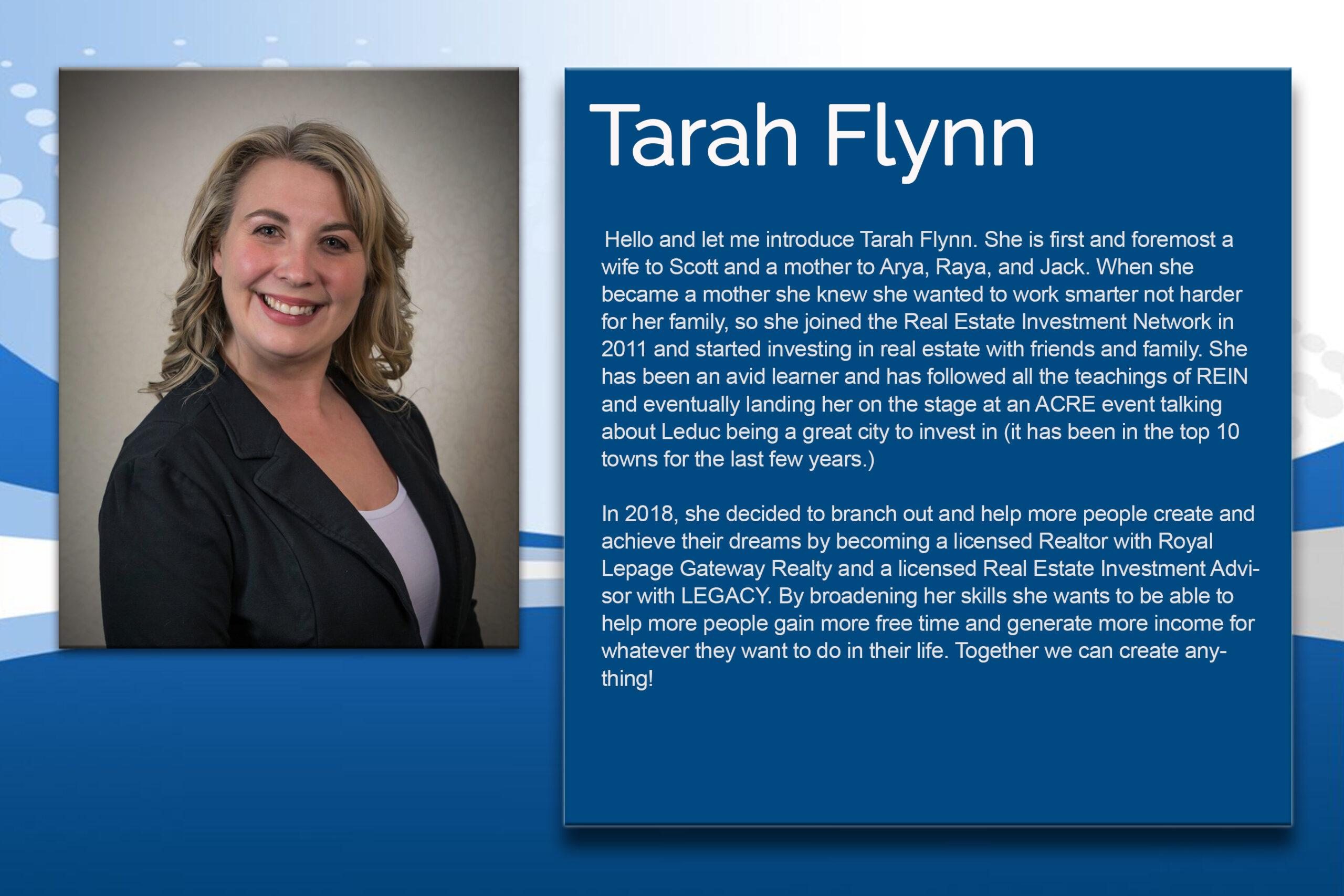 8 - Tarah Flynn
