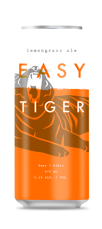 Easy Tiger Lemongrass Ale Beer Can