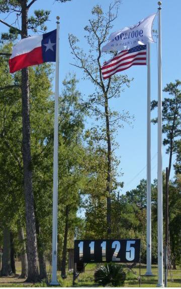 M&P Sealing flagpoles
