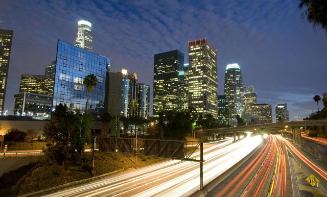 bigstock-Los-Angeles-Skyline-And-Freewa-4583042