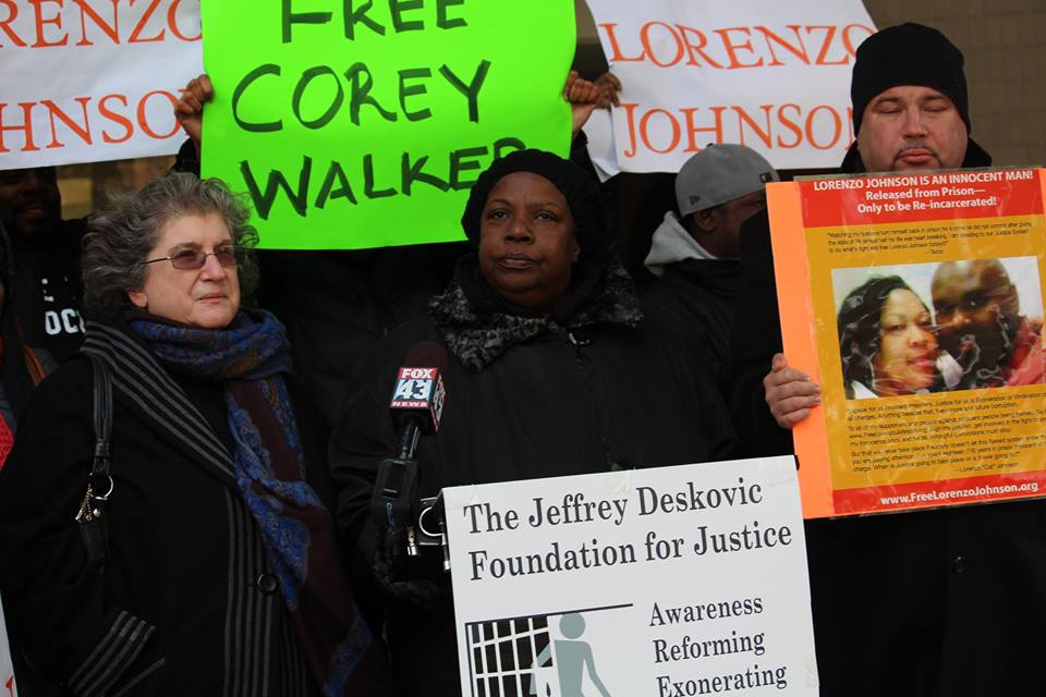 Rally for Lorenzo, Corey Walker's mother speaks