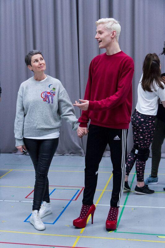 Josie Walker (Margaret) and John McCrea (Jamie New)